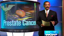 WGN story on prostate cancer