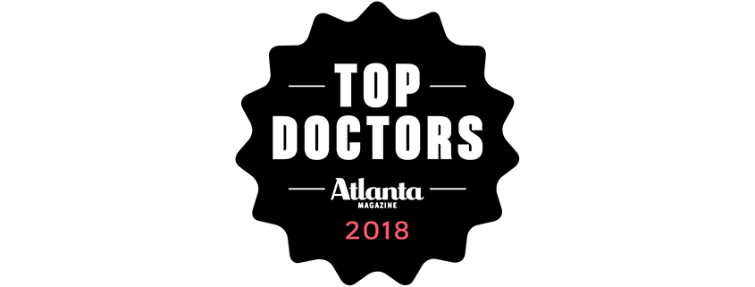 Atlanta Magazine Top Doctors 2018 Logo